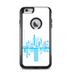 The Abstract Blue Skyline View Apple iPhone 6 Plus Otterbox Commuter Case Skin Set