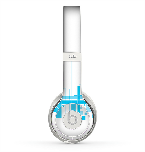 The Abstract Blue Skyline View Skin for the Beats by Dre Solo 2 Headphones