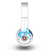 The Abstract Blue Skyline View Skin for the Original Beats by Dre Wireless Headphones