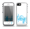The Abstract Blue Skyline View Skin for the iPhone 5-5s OtterBox Preserver WaterProof Case