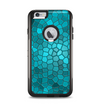 The Abstract Blue Tiled Apple iPhone 6 Plus Otterbox Commuter Case Skin Set