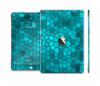 The Abstract Blue Tiled Skin Set for the Apple iPad Air 2