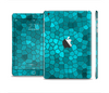The Abstract Blue Tiled Full Body Skin Set for the Apple iPad Mini 2