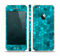 The Abstract Blue Tiled Skin Set for the Apple iPhone 5s