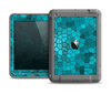 The Abstract Blue Tiled Apple iPad Mini LifeProof Fre Case Skin Set