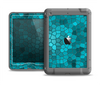 The Abstract Blue Tiled Apple iPad Mini LifeProof Nuud Case Skin Set