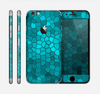 The Abstract Blue Tiled Skin for the Apple iPhone 6