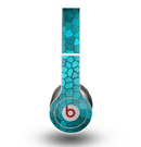 The Abstract Blue Tiled Skin for the Beats by Dre Original Solo-Solo HD Headphones