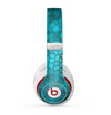 The Abstract Blue Tiled Skin for the Beats by Dre Studio (2013+ Version) Headphones