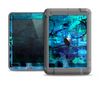 The Abstract Blue Vibrant Colored Art Apple iPad Mini LifeProof Fre Case Skin Set