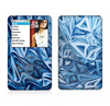 The Abstract Blue Water Pattern Skin For The Apple iPod Classic
