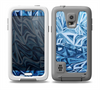 The Abstract Blue Water Pattern Skin for the Samsung Galaxy S5 frē LifeProof Case