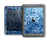 The Abstract Blue Water Pattern Apple iPad Mini LifeProof Nuud Case Skin Set