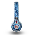 The Abstract Blue Water Pattern Skin for the Beats by Dre Mixr Headphones