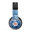 The Abstract Blue Water Pattern Skin for the Beats by Dre Pro Headphones
