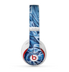 The Abstract Blue Water Pattern Skin for the Beats by Dre Studio (2013+ Version) Headphones