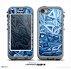 The Abstract Blue Water Pattern Skin for the iPhone 5c nüüd LifeProof Case