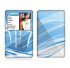 The Abstract Blue & White Future City View Skin For The Apple iPod Classic