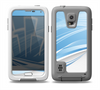 The Abstract Blue & White Future City View Skin for the Samsung Galaxy S5 frē LifeProof Case
