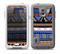 The Abstract Blue and Brown Shaped Aztec Skin for the Samsung Galaxy S5 frē LifeProof Case
