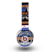 The Abstract Blue and Brown Shaped Aztec Skin for the Original Beats by Dre Wireless Headphones