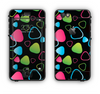 The Abstract Bright Colored Picks Apple iPhone 6 LifeProof Nuud Case Skin Set