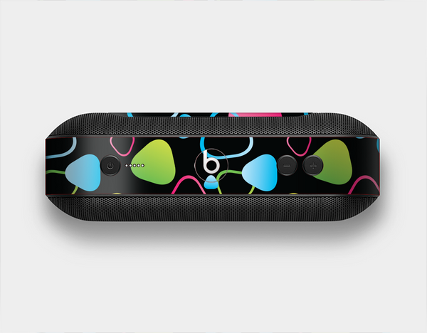 The Abstract Bright Colored Picks Skin Set for the Beats Pill Plus