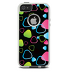 The Abstract Bright Colored Picks Skin For The iPhone 5-5s Otterbox Commuter Case