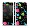 The Abstract Bright Colored Picks Skin Set for the Apple iPhone 5s