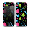 The Abstract Bright Colored Picks Skin for the Apple iPhone 4-4s