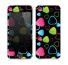 The Abstract Bright Colored Picks Skin for the Apple iPhone 5s