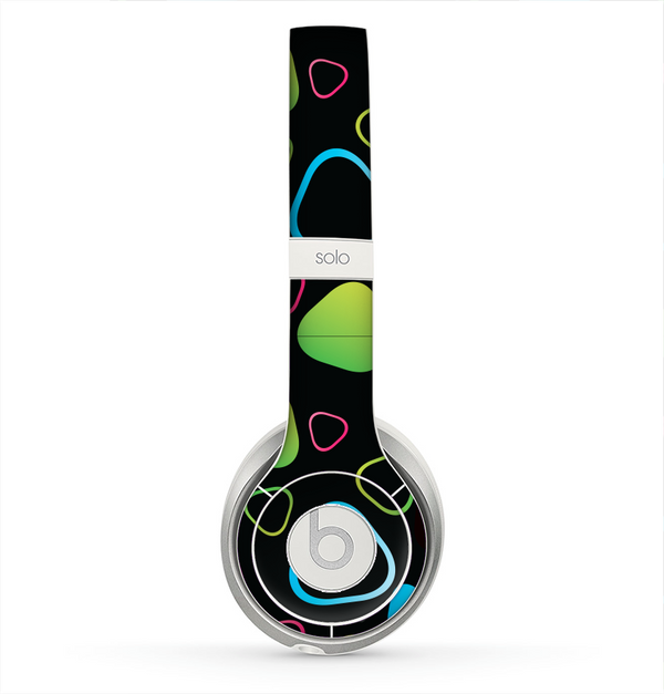 The Abstract Bright Colored Picks Skin for the Beats by Dre Solo 2 Headphones