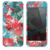 The Abstract Butterfly Shadow V3 Skin for the iPhone 3, 4-4s, 5-5s or 5c