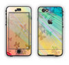 The Abstract Color Butterfly Shadows Apple iPhone 6 LifeProof Nuud Case Skin Set