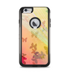 The Abstract Color Butterfly Shadows Apple iPhone 6 Plus Otterbox Commuter Case Skin Set