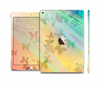 The Abstract Color Butterfly Shadows Skin Set for the Apple iPad Air 2