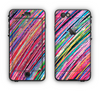 The Abstract Color Strokes Apple iPhone 6 LifeProof Nuud Case Skin Set