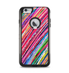 The Abstract Color Strokes Apple iPhone 6 Plus Otterbox Commuter Case Skin Set