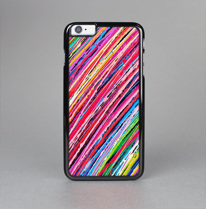 The Abstract Color Strokes Skin-Sert for the Apple iPhone 6 Skin-Sert Case