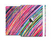 The Abstract Color Strokes Full Body Skin Set for the Apple iPad Mini 2