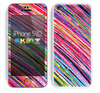 The Abstract Color Strokes Skin for the Apple iPhone 5c