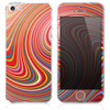 The Abstract Color Whirls V3 Skin for the iPhone 3, 4-4s, 5-5s or 5c