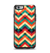 The Abstract Colorful Chevron Apple iPhone 6 Otterbox Symmetry Case Skin Set