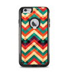 The Abstract Colorful Chevron Apple iPhone 6 Plus Otterbox Commuter Case Skin Set
