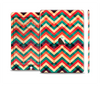 The Abstract Colorful Chevron Skin Set for the Apple iPad Air 2