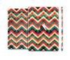 The Abstract Colorful Chevron Full Body Skin Set for the Apple iPad Mini 2