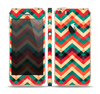 The Abstract Colorful Chevron Skin Set for the Apple iPhone 5s