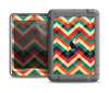 The Abstract Colorful Chevron Apple iPad Mini LifeProof Nuud Case Skin Set