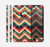 The Abstract Colorful Chevron Skin for the Apple iPhone 6 Plus