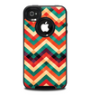 The Abstract Colorful Chevron Skin for the iPhone 4-4s OtterBox Commuter Case